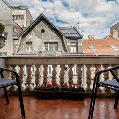 Отель Ben Akiba балкон