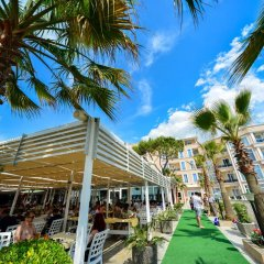 Отель Klajdi Албания, Голем - отзывы, цены и фото номеров - забронировать отель Klajdi онлайн гостиничный бар