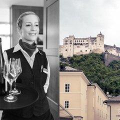 Отель Mercure Salzburg Central Австрия, Зальцбург - 3 отзыва об отеле, цены и фото номеров - забронировать отель Mercure Salzburg Central онлайн балкон
