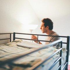 Хостел Крыша Кровать в общем номере двухъярусные кровати фото 12