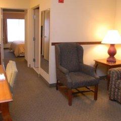 Отель Country Inn & Suites by Radisson, Newark Airport, NJ США, Элизабет - отзывы, цены и фото номеров - забронировать отель Country Inn & Suites by Radisson, Newark Airport, NJ онлайн удобства в номере фото 2