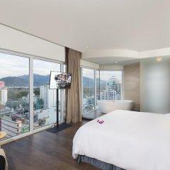 Отель Liberty Central Nha Trang 4* Номер Делюкс с различными типами кроватей фото 3