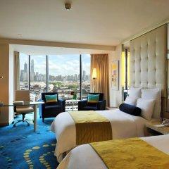 Renaissance Shanghai Yu Garden Hotel 4* Номер Делюкс с различными типами кроватей