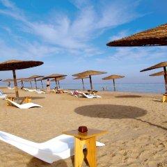 Отель El Wekala Aqua Park Resort пляж