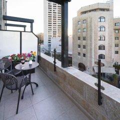 City Center Jerusalem Израиль, Иерусалим - 1 отзыв об отеле, цены и фото номеров - забронировать отель City Center Jerusalem онлайн балкон