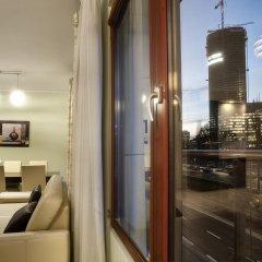 Отель Exclusive Apartments Panska Польша, Варшава - отзывы, цены и фото номеров - забронировать отель Exclusive Apartments Panska онлайн балкон