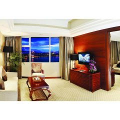 Отель Swiss Grand Xiamen 4* Люкс повышенной комфортности с различными типами кроватей фото 2
