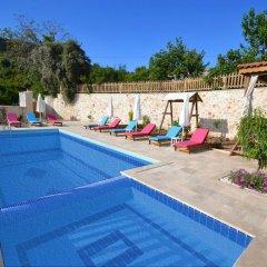 Villa Kelebek Oz Турция, Патара - отзывы, цены и фото номеров - забронировать отель Villa Kelebek Oz онлайн бассейн