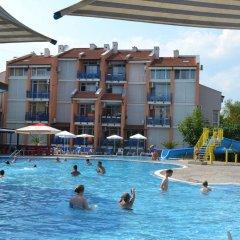 Апартаменты Peevi Apartments Солнечный берег бассейн