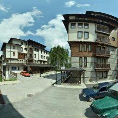 Апартаменты Green Life Family Apartments Pamporovo парковка