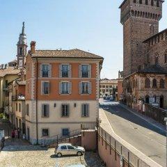 Отель Al Castello di Leonardo Капральба парковка