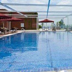 Отель Somerset Garden City Shenzhen Hotel Китай, Шэньчжэнь - отзывы, цены и фото номеров - забронировать отель Somerset Garden City Shenzhen Hotel онлайн бассейн