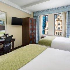 Hotel Mela Times Square 4* Номер Делюкс с различными типами кроватей фото 7