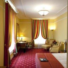 Отель Fairmont Le Montreux Palace 5* Стандартный номер с различными типами кроватей фото 12