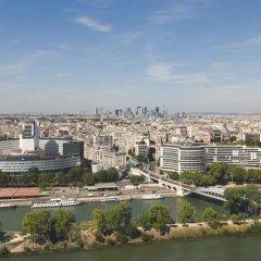 Отель Novotel Paris Centre Tour Eiffel 4* Представительский люкс с разными типами кроватей фото 9
