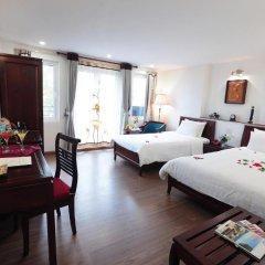 Nova Luxury Hotel 3* Стандартный семейный номер с двуспальной кроватью фото 3