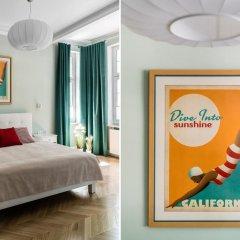 Апартаменты Sanhaus Apartments Сопот комната для гостей фото 2
