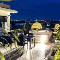 Отель Villas In Pattaya 5* Вилла Премиум с различными типами кроватей фото 28