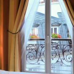 Отель Hôtel Eden Montmartre 3* Стандартный номер с различными типами кроватей фото 2