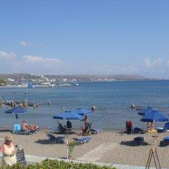 Отель Elpida Beach Studios пляж