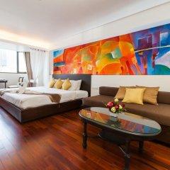 Отель The Grand Sathorn 3* Номер Делюкс с различными типами кроватей фото 8