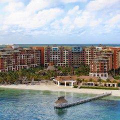 Отель Villa del Palmar Cancun Luxury Beach Resort & Spa Мексика, Плайя-Мухерес - отзывы, цены и фото номеров - забронировать отель Villa del Palmar Cancun Luxury Beach Resort & Spa онлайн пляж фото 2