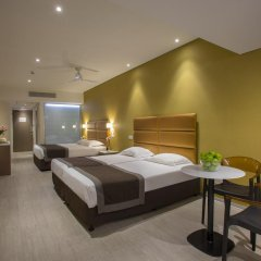 Отель Faros 3* Стандартный семейный номер с двуспальной кроватью фото 3
