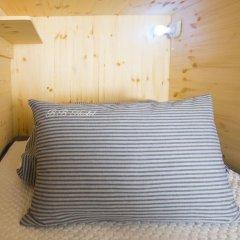 KW Hongdae Hostel Кровать в женском общем номере с двухъярусной кроватью