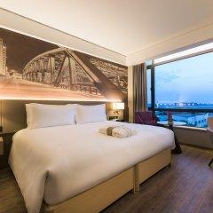 Отель Mercure Shanghai Hongqiao Airport 4* Стандартный номер с различными типами кроватей фото 2
