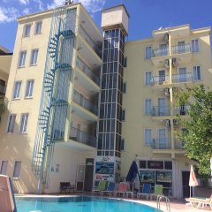 Atlantik Apart Hotel Турция, Алтинкум - отзывы, цены и фото номеров - забронировать отель Atlantik Apart Hotel онлайн бассейн фото 2
