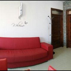 Апартаменты Marsascala Luxury Apartment & Penthouse Марсаскала комната для гостей фото 2