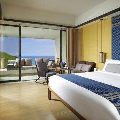 Отель InterContinental Sanya Resort 5* Улучшенный номер с различными типами кроватей фото 2