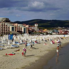 Апартаменты Sea View Apartment in New Line Village Свети Влас пляж фото 2