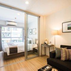 Отель The Grass Serviced Suites by At Mind Люкс с различными типами кроватей фото 4