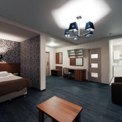 Гостиница ГЕЛИОПАРК Лесной 3* Апартаменты с двуспальной кроватью фото 5