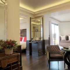 Отель Hassler Roma 5* Номер Делюкс с различными типами кроватей фото 4
