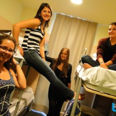 Barcelona Urbany Hostel Кровать в женском общем номере с двухъярусной кроватью фото 4