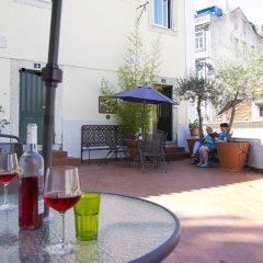 Отель Costa Do Castelo Terrace питание