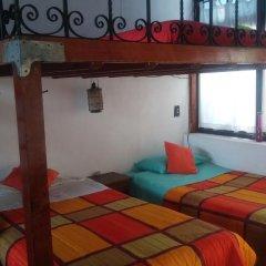 Hostel Mexico Df Airport Кровать в общем номере фото 4