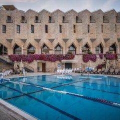 The Inbal Jerusalem Израиль, Иерусалим - отзывы, цены и фото номеров - забронировать отель The Inbal Jerusalem онлайн бассейн фото 2