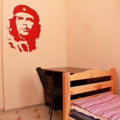 Хостел Х.О. Кровать в общем номере с двухъярусной кроватью фото 22