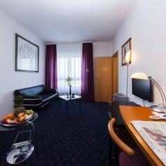 Отель H&S Belmondo Leipzig Airport 4* Стандартный номер с различными типами кроватей