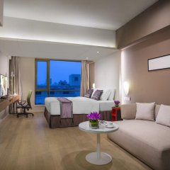 Отель Citadines Central Xi'an Студия с различными типами кроватей фото 13