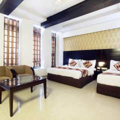 Hotel Krishna 3* Стандартный номер с различными типами кроватей фото 3