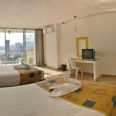 Hotel Romano Palace Acapulco 2* Стандартный номер с различными типами кроватей фото 4
