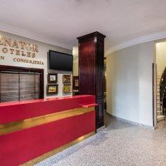 Отель NH Collection Madrid Gran Vía Испания, Мадрид - 1 отзыв об отеле, цены и фото номеров - забронировать отель NH Collection Madrid Gran Vía онлайн интерьер отеля фото 2