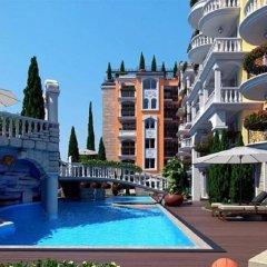 Отель Sweet Home 2 Apartment Болгария, Солнечный берег - отзывы, цены и фото номеров - забронировать отель Sweet Home 2 Apartment онлайн бассейн фото 3