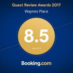 Отель Waynes Place Великобритания, Кемптаун - отзывы, цены и фото номеров - забронировать отель Waynes Place онлайн спортивное сооружение