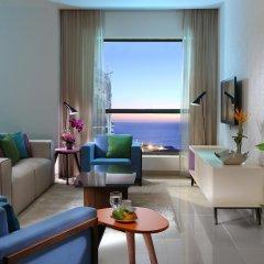 Ramada Hotel & Suites by Wyndham JBR 4* Улучшенные апартаменты с различными типами кроватей фото 6