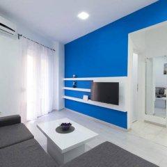 Отель Blue Wave Place Thessaloniki Апартаменты с различными типами кроватей фото 9